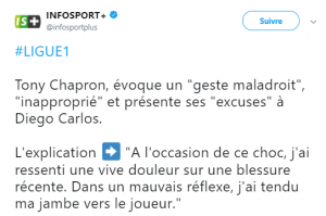 excuses tony chapron
