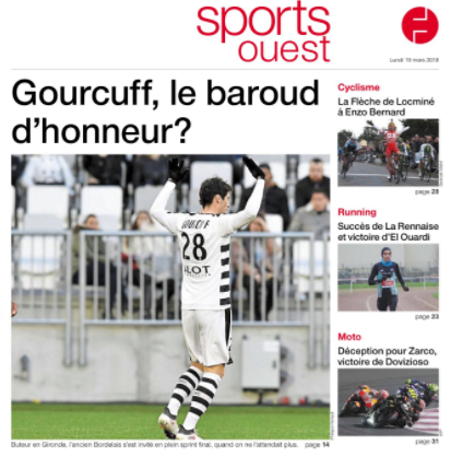 gourcuff ouest france