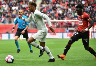 Neymar et Hamari Traoré